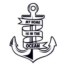 navy-my-home T-Shirt