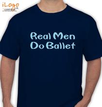 Dance Studio Real-Men-do-ballet T-Shirt