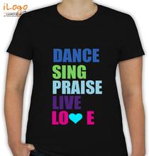 Dance Studio Dance-live-love T-Shirt