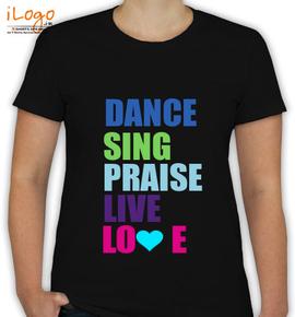 Dance live love - T-Shirt [F]