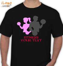 Yoga FITNESS-YOUR-TEXT T-Shirt