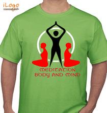 Yoga MEDITATION-BODY-AND-MIND T-Shirt
