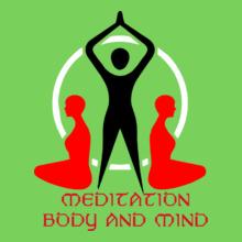 MEDITATION-BODY-AND-MIND T-Shirt
