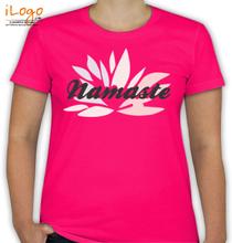 Yoga Yoga-Design-Namaste T-Shirt