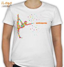 Yoga world-yoga-day T-Shirt