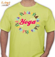 Yoga Yoga-design-colourfull T-Shirt