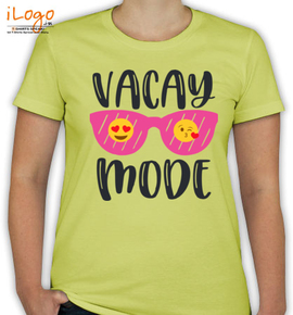vacation mode - T-Shirt [F]