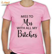 Bachelorette Party Miss-to-Mrs T-Shirt