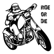 Biker Ride-or-Die T-Shirt