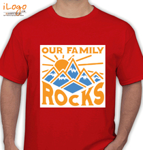 Family Reunion our-family-rocks T-Shirt