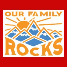 Family Reunion our-family-rocks T-Shirt
