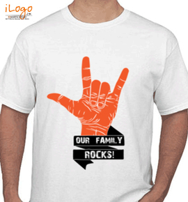 family rocks - T-Shirt