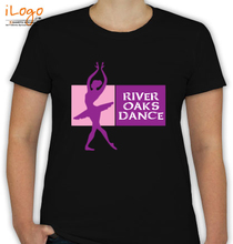 Dance Studio River-Oaks-Dance T-Shirt