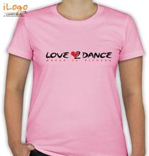 Dance Studio Love--Dance T-Shirt