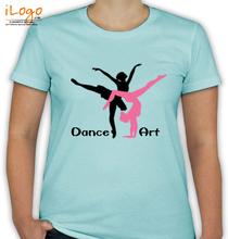 Dance Studio Dance-artwork T-Shirt