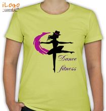 Dance Studio Dance-fitness T-Shirt