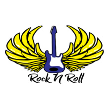 Rock guitar-rock-n-roll T-Shirt