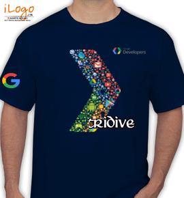 GOOGLE TRIDIVE - T-Shirt