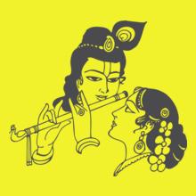 Hinduism krishnaradha T-Shirt