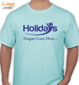 holidayslogan - T-Shirt