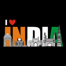 Independence Day Love-india T-Shirt