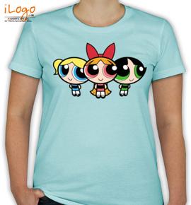 power puff girls - T-Shirt [F]