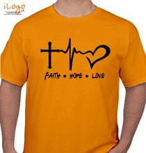 Jesus Faithhopelove T-Shirt