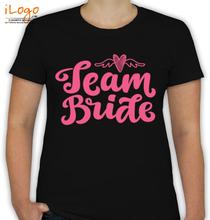 Bachelorette Party team-bride T-Shirt