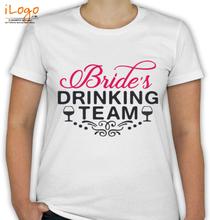 Bachelorette Party bridesdrinking.. T-Shirt