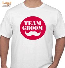 Bachelor Party team-groom- T-Shirt