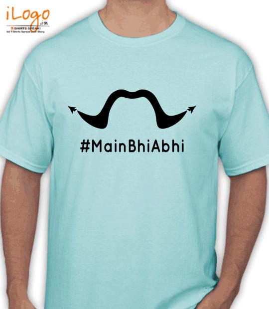 aqua blue #mainbhiabhi:front
