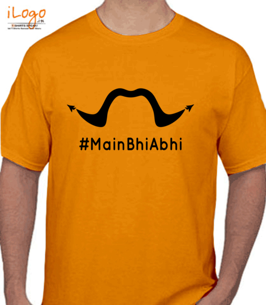 gold #mainbhiabhi:front