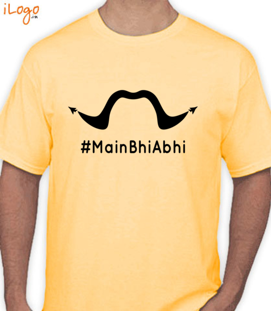 yellow #mainbhiabhi:front
