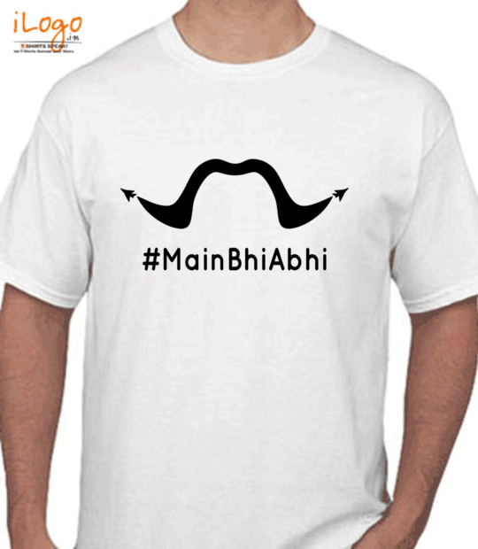 white #mainbhiabhi:front
