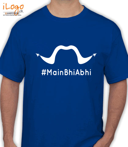 royal blue #mainbhiabhi_:front