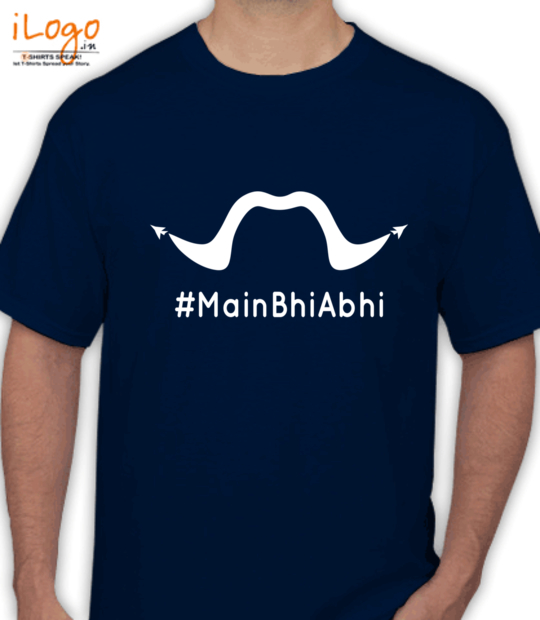 navy blue #mainbhiabhi_:front