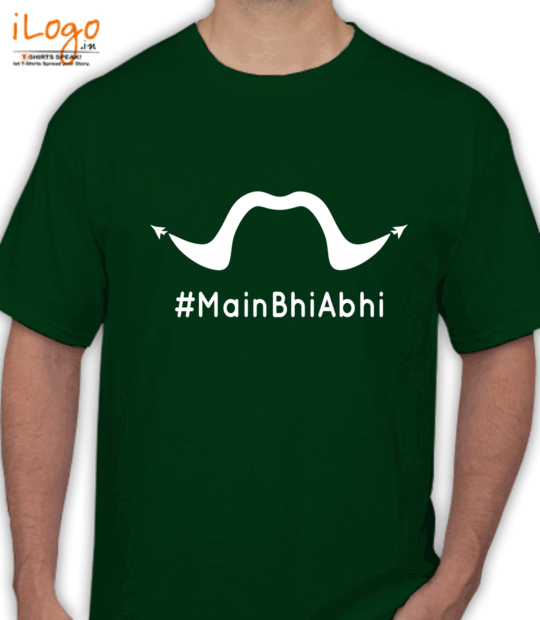 bottle green #mainbhiabhi_:front