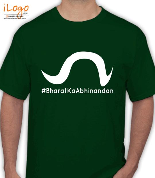bottle green #bharatkaabhinandan_:front