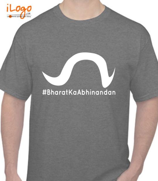 charcoal #bharatkaabhinandan_:front