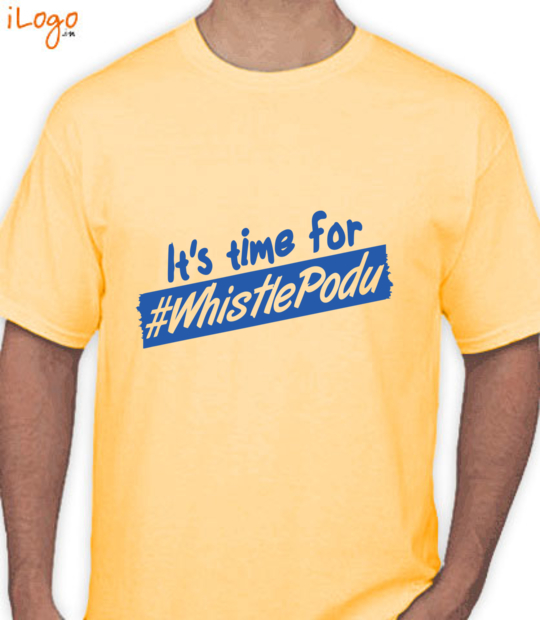 yellow it's time for whistle podu:front