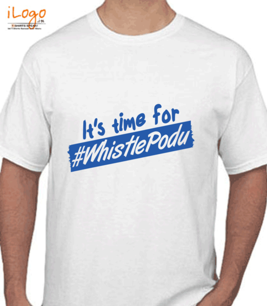 white it's time for whistle podu:front