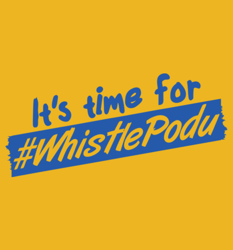 it's time for whistle podu