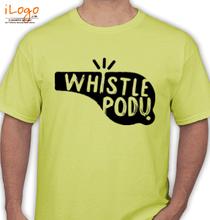 IPL whistle-podu-t-shirts T-Shirt