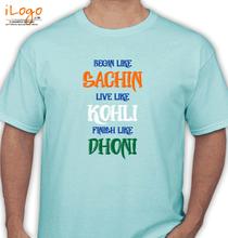 Cricket  ilogo-team-india-tshirts T-Shirt