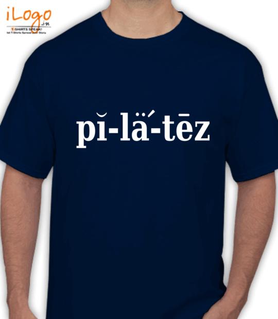 navy blue pilatez:front
