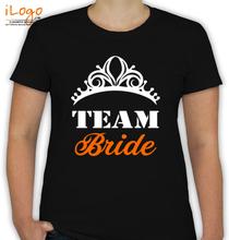 Bachelorette Party bride-design T-Shirt