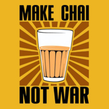 make-chai-not-war T-Shirt