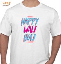 Holi happy-wali-holi T-Shirt