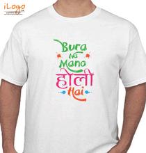 Holi bura-na-mano-holi-hay T-Shirt