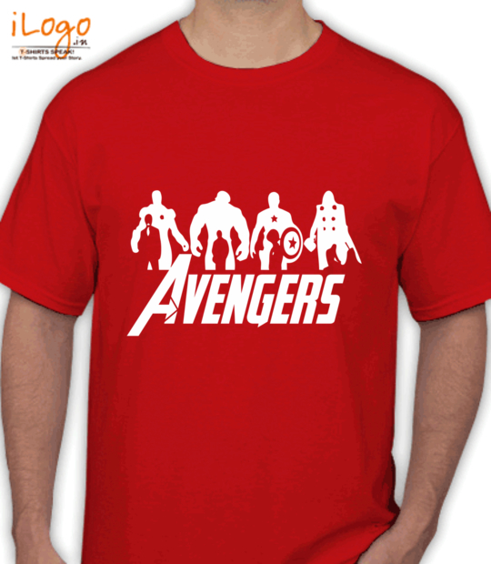 red #avengres:front